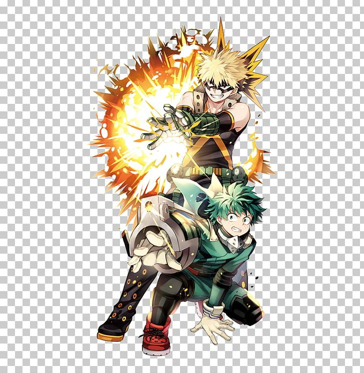 My Hero Academia Katsuki Bakugou Anime Fan Art Png Clipart