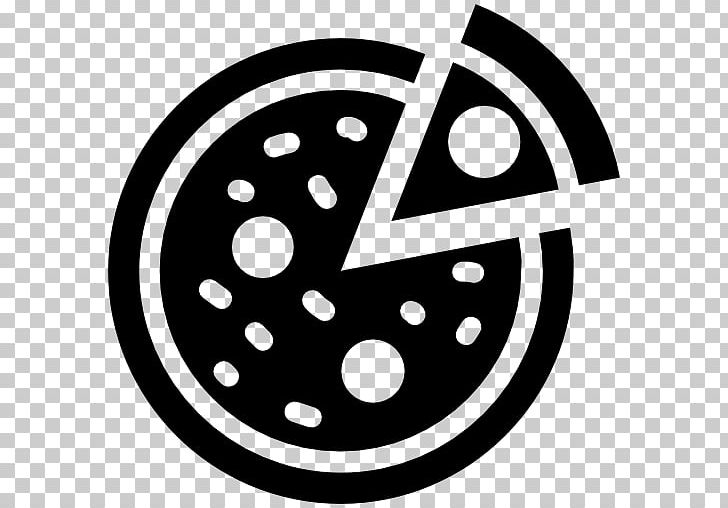 Pizza Italian Cuisine Pasta Restaurant Computer Icons PNG, Clipart, Area, Black And White, Brand, Circle, Computer Icons Free PNG Download