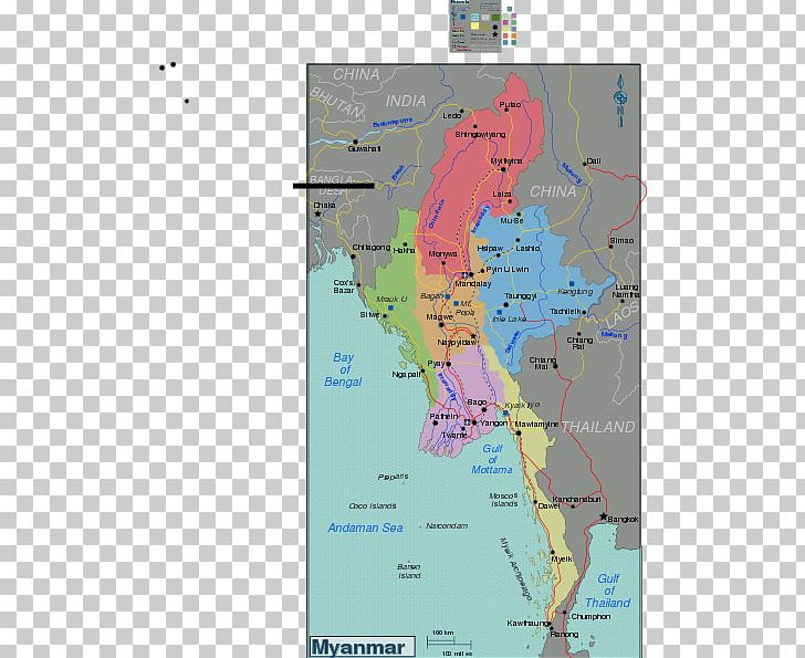 Administrative Divisions Of Myanmar Regions Of Italy Map Districts Of Myanmar Atlas Png Clipart Area Atlas