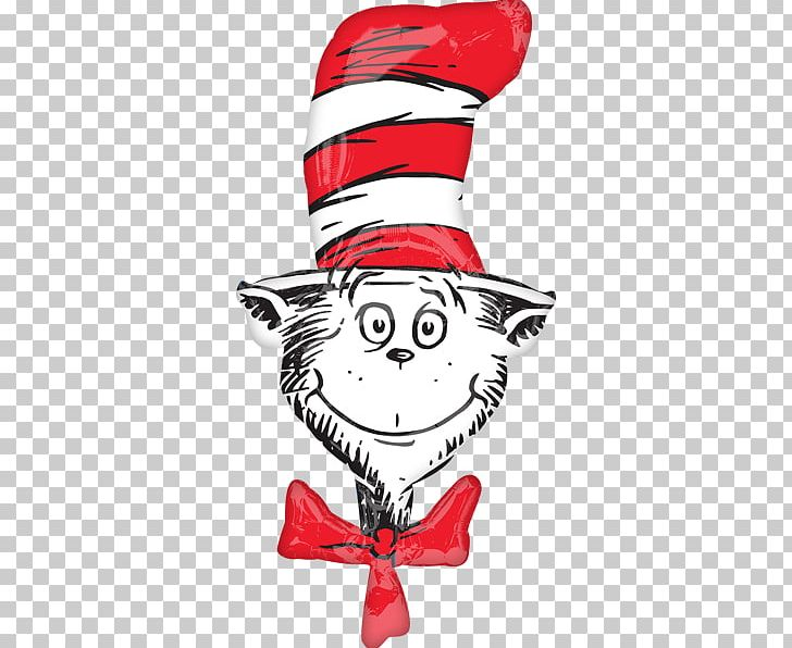 ad7638da The Cat In The Hat Green Eggs And Ham Thing One Mylar Balloon PNG, Clipart,  Author, ...