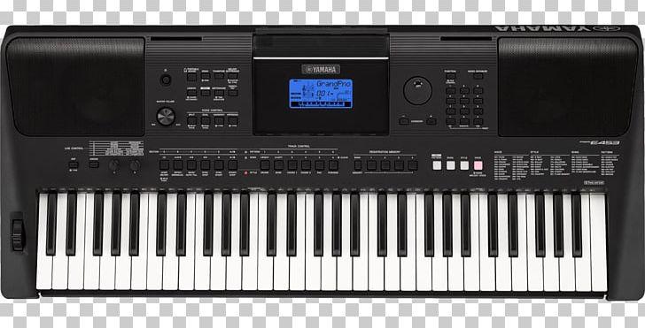 Yamaha Psr E453 Electronic Keyboard Musical Instruments Png