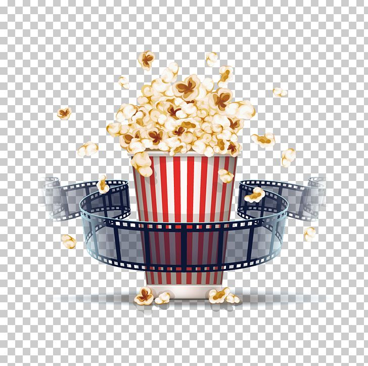 Popcorn Film Stock Illustration Cinema Png Clipart Cinematography Euclidean Vector Film Film Border Film Frame Free