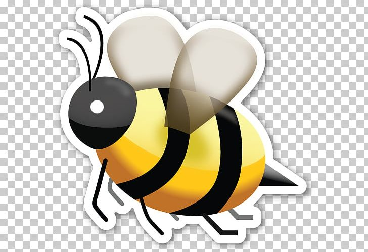 Emoji Honey Bee Sticker Lemonade PNG, Clipart, Askfm, Beak, Bee