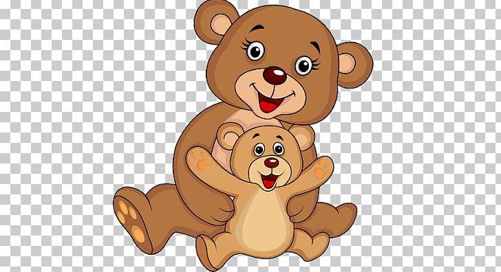 Mother Drawing Png Clipart Baby Bear Bear Bear Cartoon Carnivoran Cartoon Free Png Download