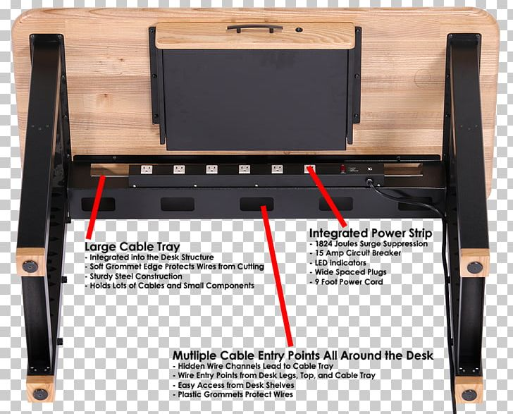 desk cable management cable tray cable grommet electrical cable png,  clipart, ac power plugs and sockets,