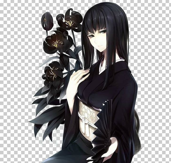 Black Hair Anime Eye Brown Hair PNG, Clipart, Anime, Anime Girl, Bangs, Black Hair, Blue Free PNG Download
