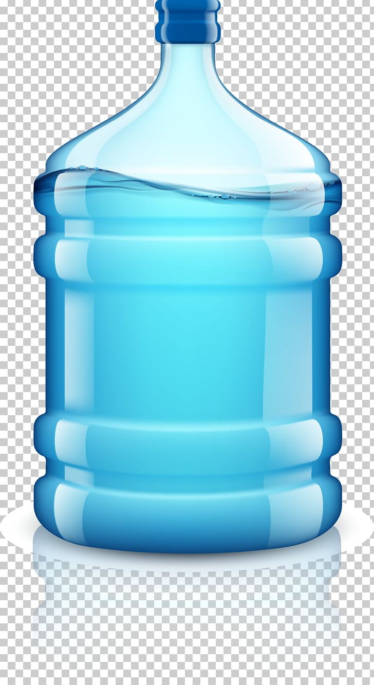 Water Bottle Bottled Water Drinking Water PNG, Clipart, Blue, Bottle, Bottled, Bucket, Container Free PNG Download
