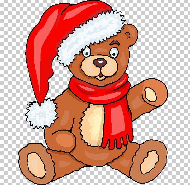 Bear Christmas Noel Chez Les Schtroumpfs Png Clipart Animals Artwork Bear Bear Clipart Carnivoran Free Png