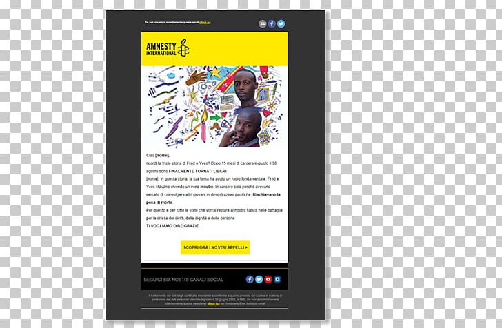 MailUp Email Marketing Amnesty International Display
