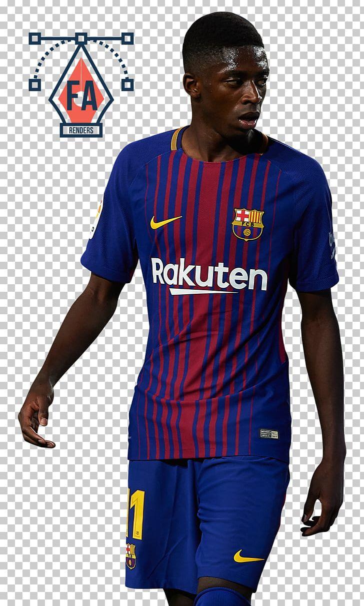 on sale da4f0 79ab0 Ousmane Dembélé Jersey FC Barcelona France National Football ...