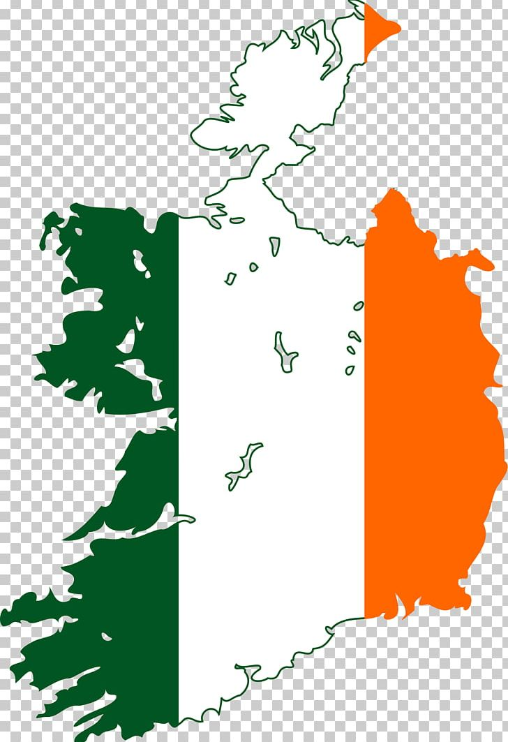 Flag Of Ireland World Map Png Clipart Angle Area Artwork Blank Map Border Free Png Download