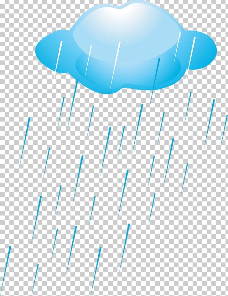 Rain Cartoon Cloud PNG, Clipart, Air Travel, Animation, Aqua, Blue