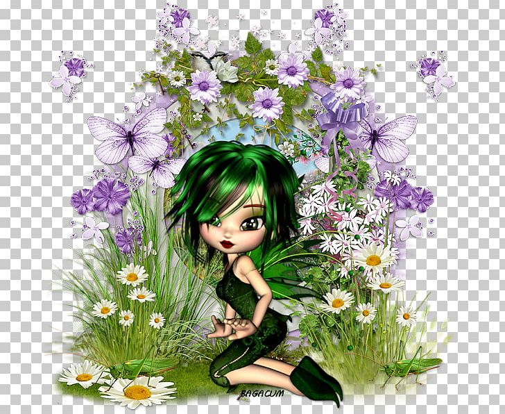 Floral Design Fairy Desktop Computer PNG, Clipart, Anime, Art, Computer, Computer Wallpaper, Coockie Free PNG Download