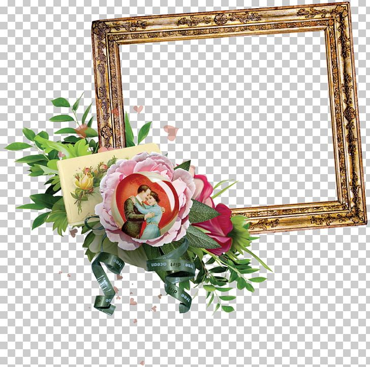 Flower Frame Watercolor Painting PNG, Clipart, Art, Artificial Flower, Beautiful, Beautiful Floral Frame Picture, Border Frame Free PNG Download