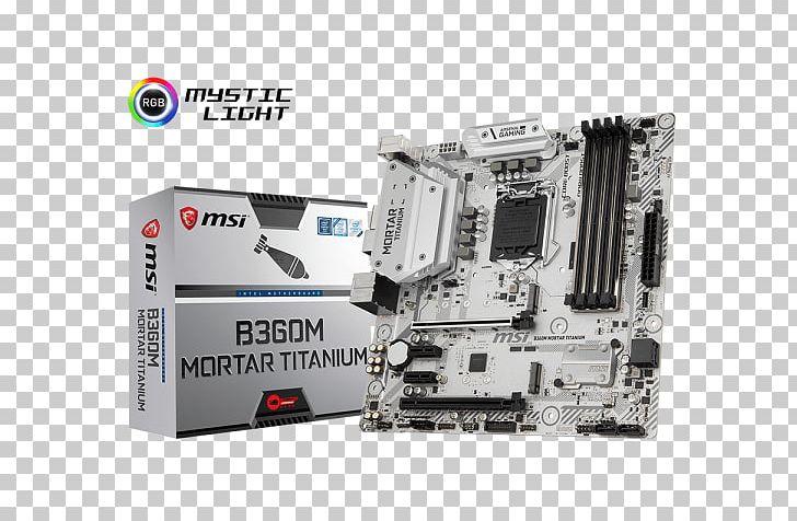 Intel MSI B360M MORTAR Motherboard LGA 1151 Micro-Star