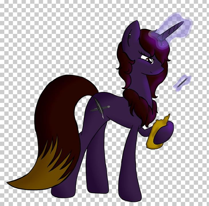 Horse Legendary Creature Purple Supernatural Cartoon PNG, Clipart, Animal, Animal Figure, Animals, Cartoon, Creature Free PNG Download
