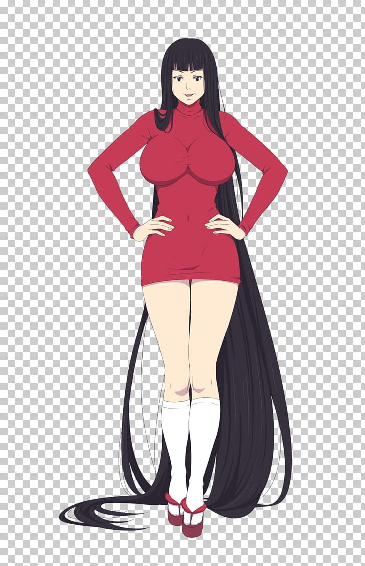 Black Hair Costume Brown Hair PNG, Clipart, Animated Cartoon, Anime, Arm, Art, Black Free PNG Download