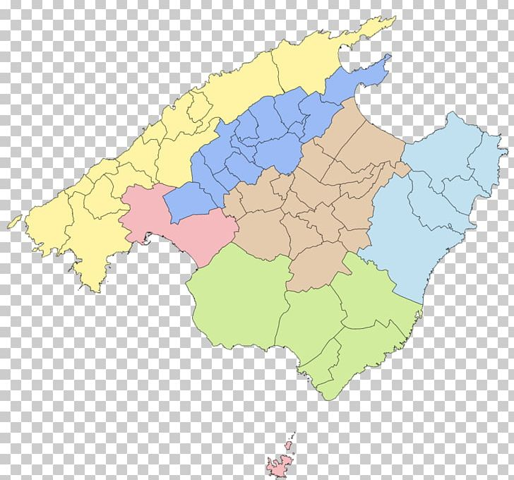 Catalan Map Of Spain.Comarcas Of Spain Comarca Of Mallorca Palma Map Manacor Png Clipart