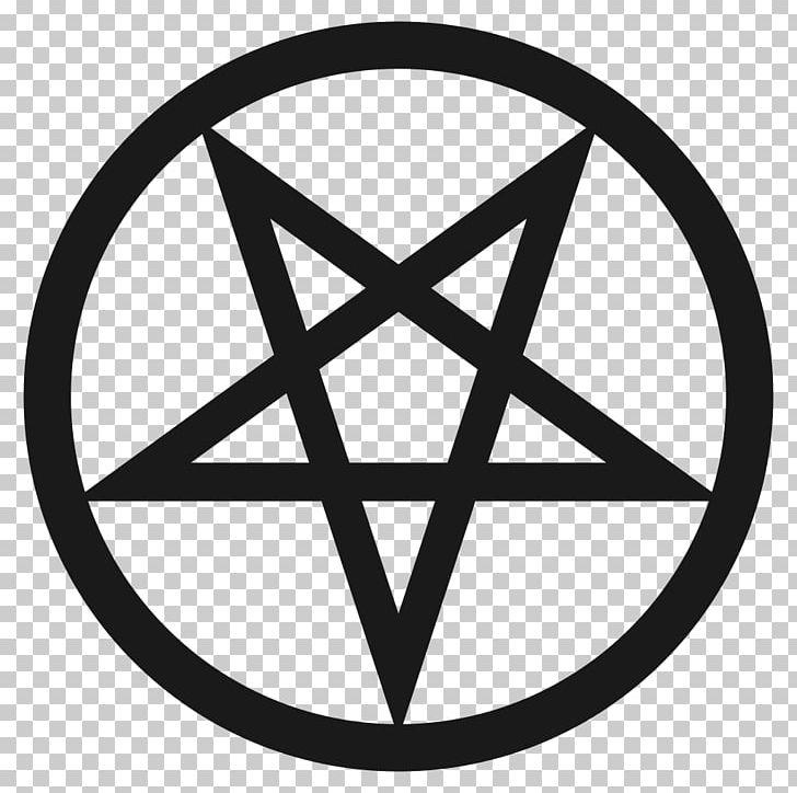 Pentagram Pentacle Satanism Symbol Baphomet PNG, Clipart, Angle, Area, Baphomet, Black And White, Circle Free PNG Download