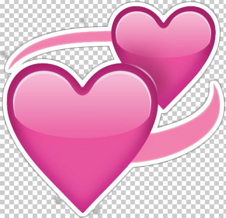 Emoji heart. Love sticker png clipart