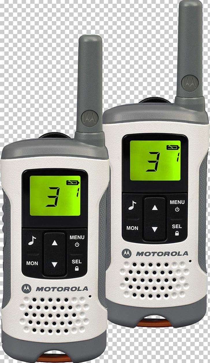 Motorola TLKR Walkie Talkie Walkie-talkie Two-way Radio PMR446 PNG, Clipart, Communication, Communication Device, Electronic Device, Electronics, Hardware Free PNG Download