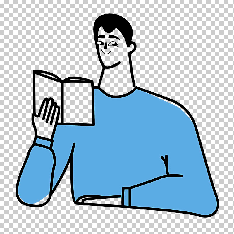 Reading Book PNG, Clipart, Conversation, Digital Marketing, Line Art, Male, Marketing Free PNG Download
