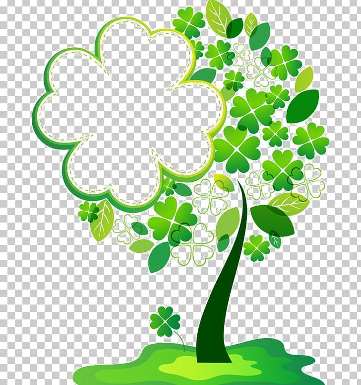 Borders And Frames Frames Tree Four-leaf Clover PNG, Clipart, Alder, Borders, Borders And Frames, Branch, Clip Art Free PNG Download