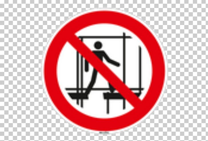 Construction//Building Site Safety Sign Scaffolding