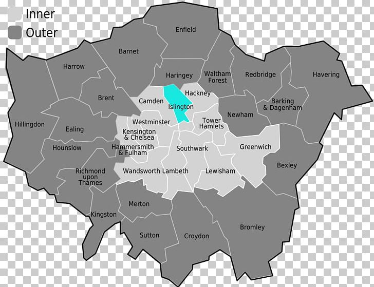 Map Outer London.Inner London Outer London Central London London Borough Of Haringey