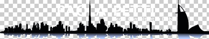 Dubai Abu Dhabi Skyline PNG, Clipart, Abu Dhabi, Art Dubai, Black, Black And White, Brand Free PNG Download