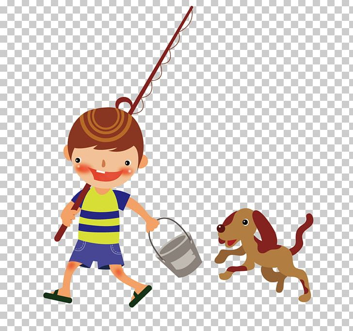 Fishing Rod Drawing Png Clipart Animation Art Balloon Cartoon Boy Boy Cartoon Free Png Download