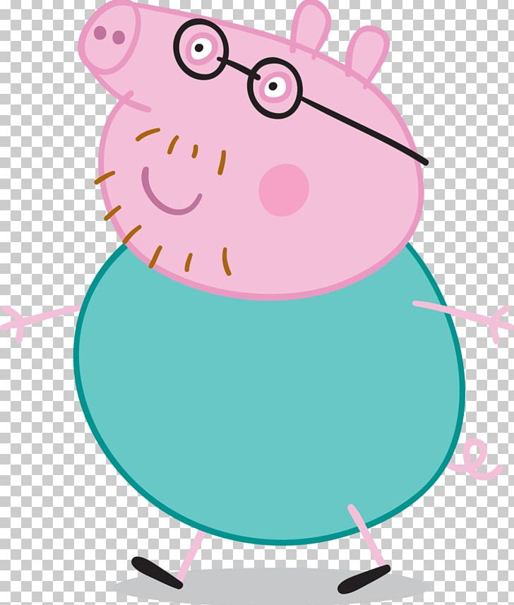 Daddy Pig Television Show Mummy Pig Father PNG, Clipart