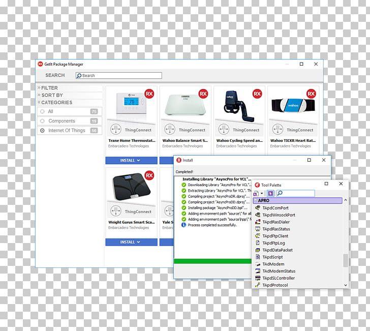 Web Page Embarcadero RAD Studio Delphi Rapid Application