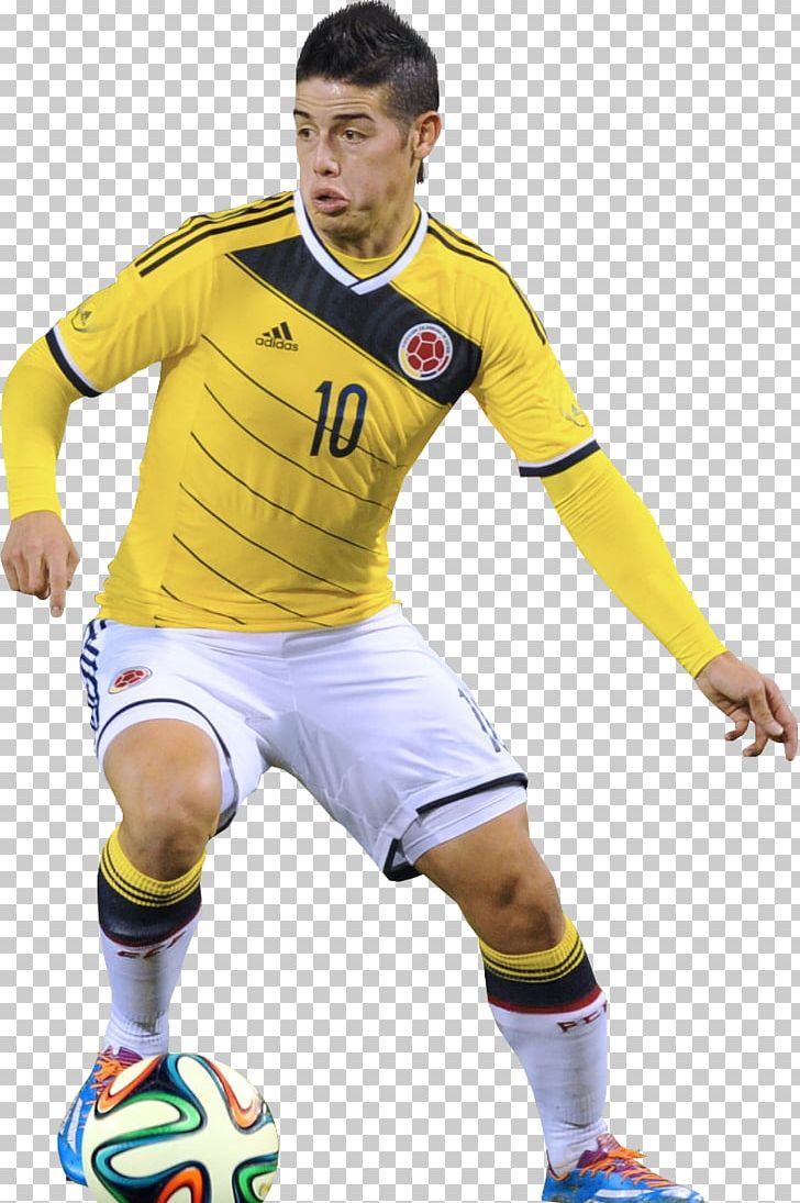 58ee681cbf1 James Rodríguez 2014 FIFA World Cup Colombia National Football Team FC  Bayern Munich PNG, Clipart, Ball, ...