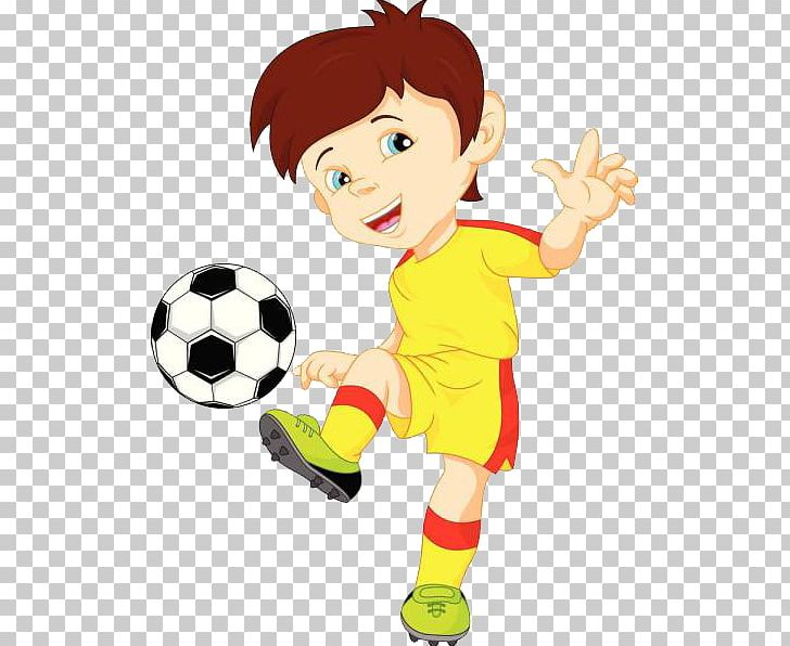 Football Player Illustration Png Clipart Boy Cartoon Child Computer Wallpaper Fictional Character Free Png Download