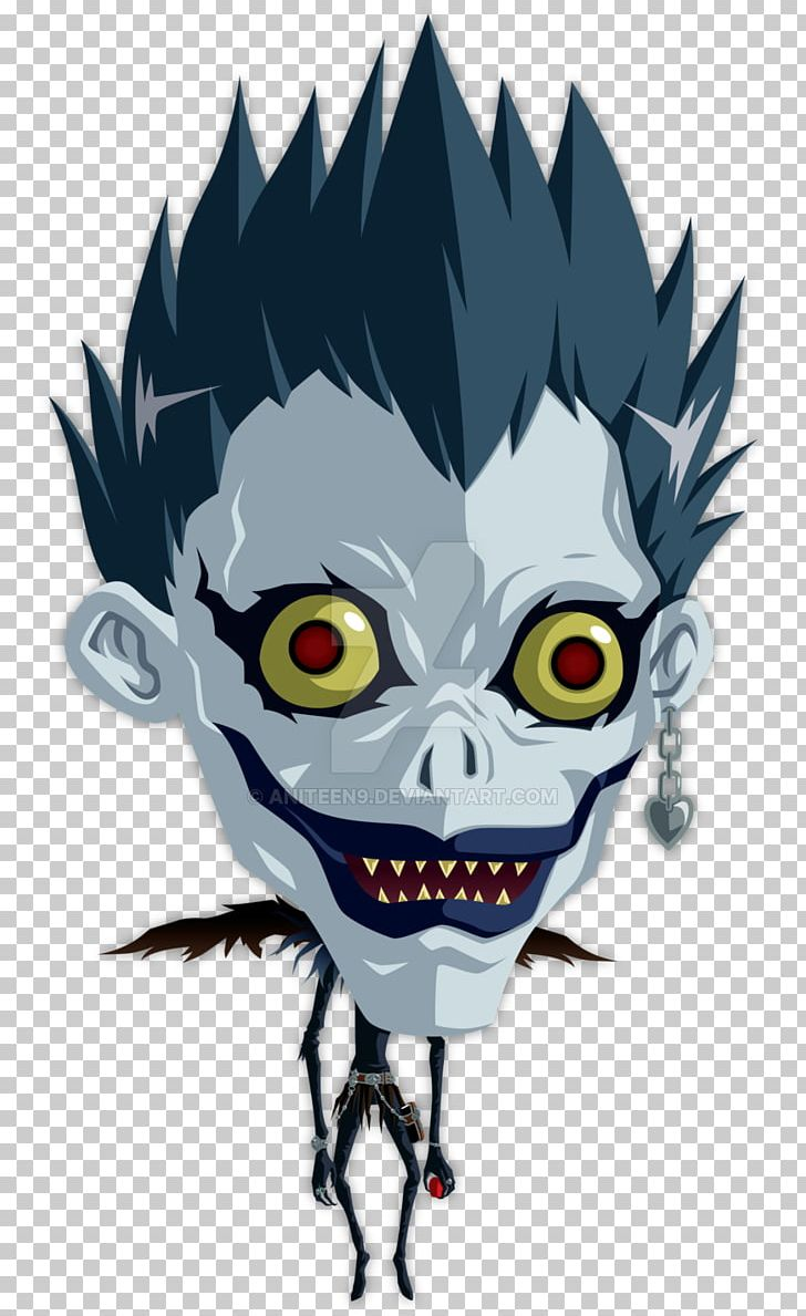 Ryuk Rem Light Yagami Death Note Png Clipart Art