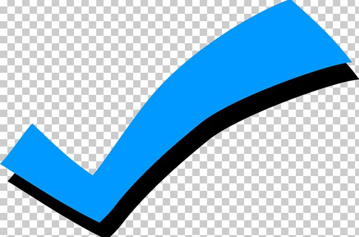 Check Mark Checkbox Computer Icons PNG, Clipart, Angle, Area, Blue, Blue Check Mark, Brand Free PNG Download