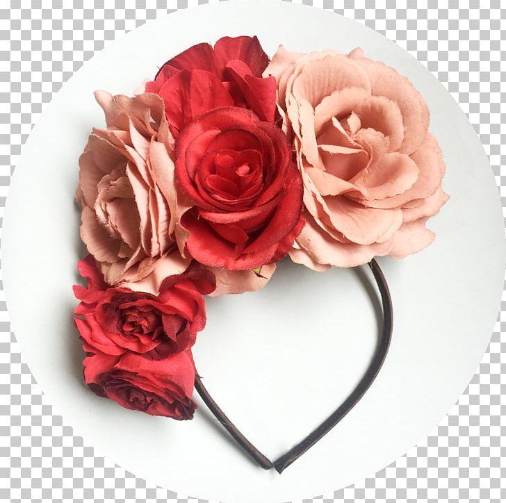 Garden Roses Headband Diadem Flower Headgear PNG, Clipart, Artificial Flower, Clothing Accessories, Crown, Diadem, Diadema Free PNG Download