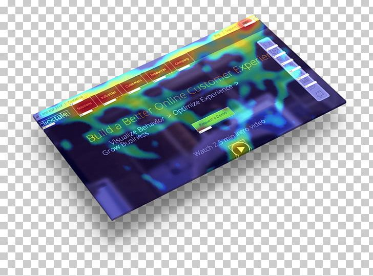 Heat Map Clicktale Conversion Marketing Web Analytics PNG