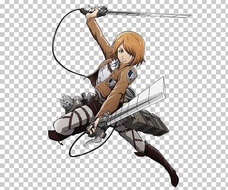 Eren Yeager Mikasa Ackerman A.O.T.: Wings Of Freedom Attack On Titan Sasha Braus PNG, Clipart, Anime, Aot Wings Of Freedom, Attack On Titan, Character, Cold Weapon Free PNG Download