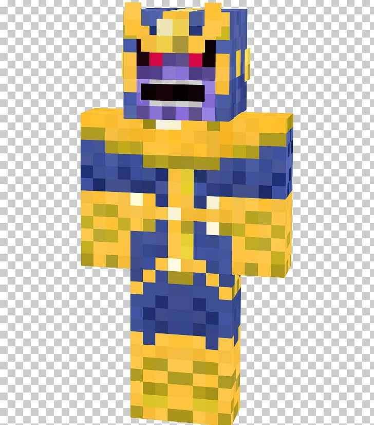 Thanos Minecraft Fortnite Video Game Marvel Comics PNG, Clipart