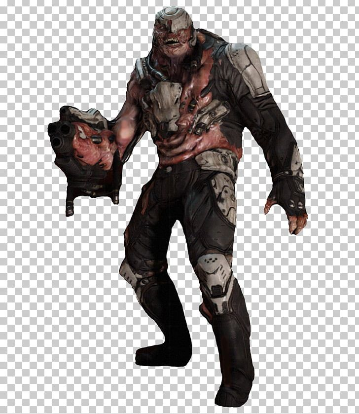 Doom 3 Soldier Doomguy Demonic Possession Png Clipart Action