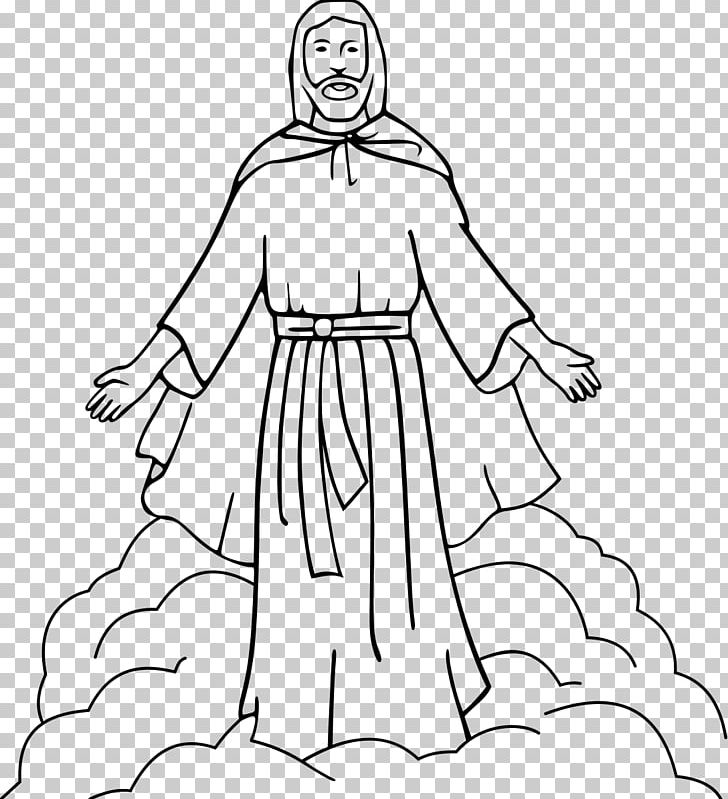 Bible Coloring Book Depiction Of Jesus Child Jesus PNG ...