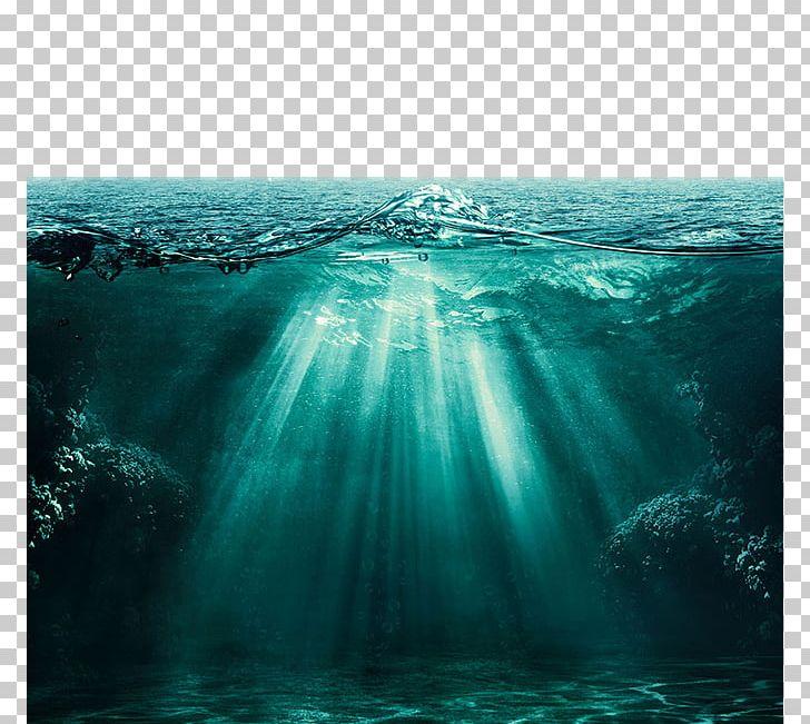 Light Ocean Underwater Deep Sea PNG, Clipart, Aqua, Bubble, Cloud, Clouds And Sea, Computer Wallpaper Free PNG Download