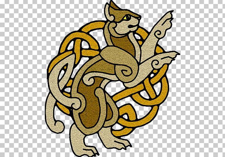Celtic Knot Mythology Art