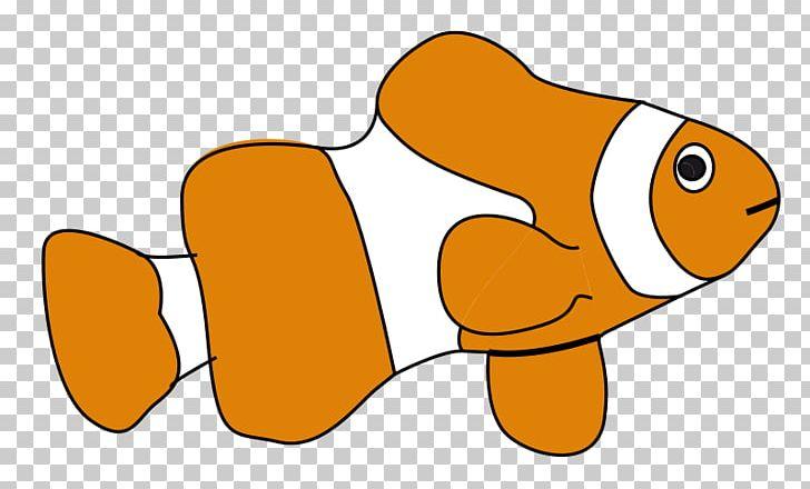 Clownfish Png Clipart Beak Cartoon Clownfish Drawing Finding