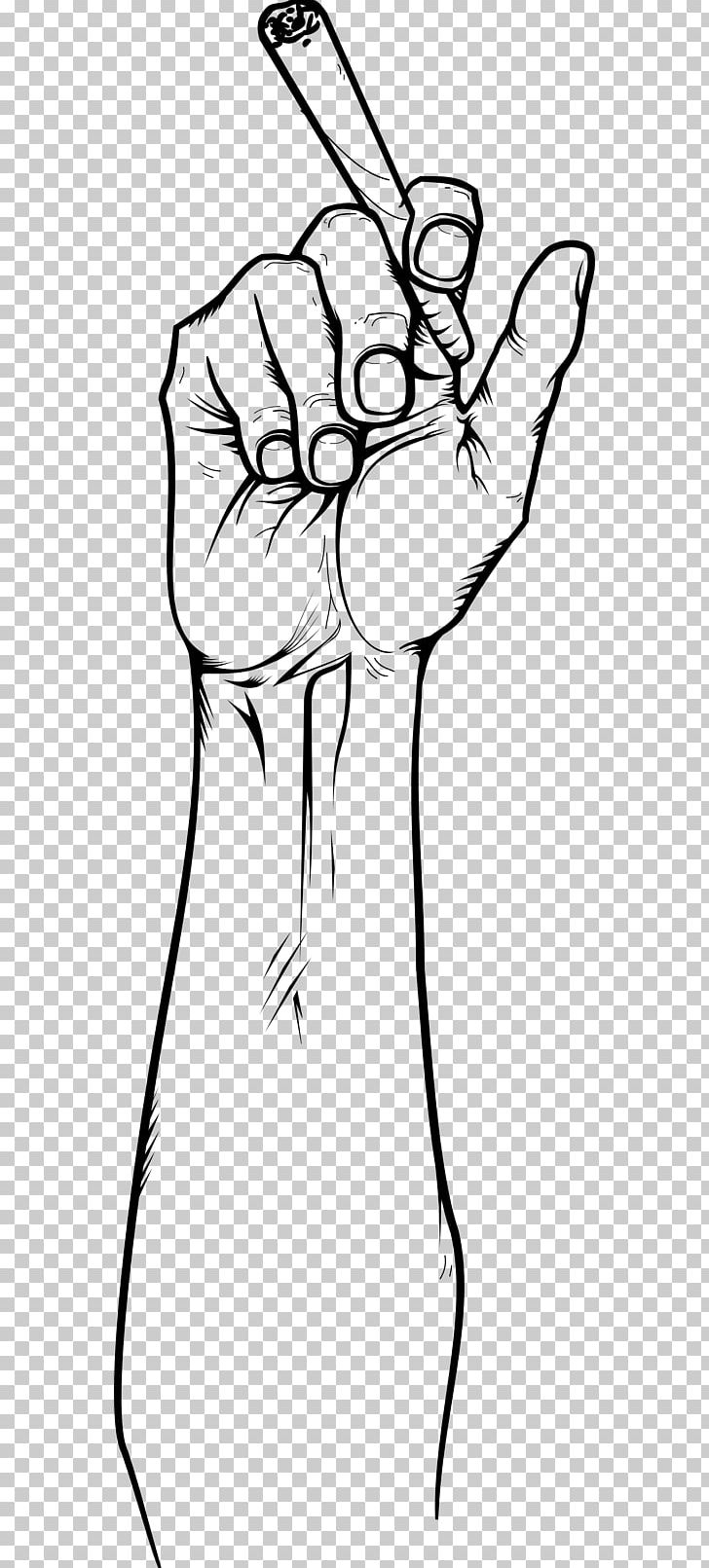 Blunt Joint Cannabis Smoking Hand Png Clipart Arm Art Black Black And White Blunt Free Png Seeking more png image arrow pointing right png,master hand png,dog paw print png? blunt joint cannabis smoking hand png