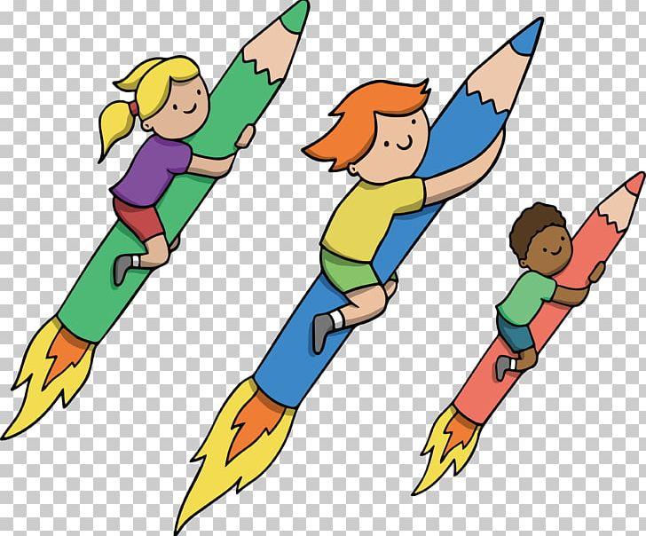 Pencil Rocket Pencil Rocket PNG, Clipart, Area, Artwork, Colored Pencil, Color Pencil, Download Free PNG Download