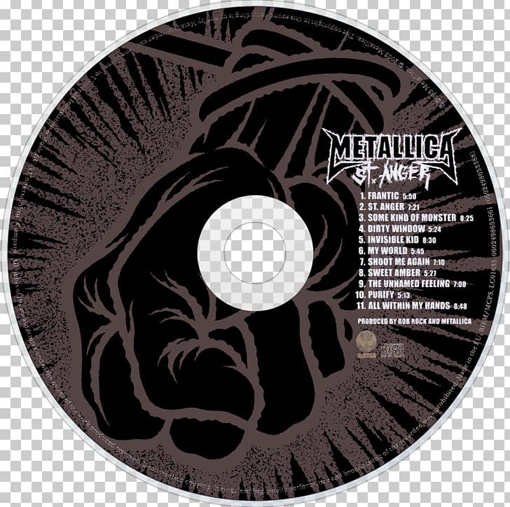 St Anger Metallica Album Garage Inc Frantic Png Clipart Album