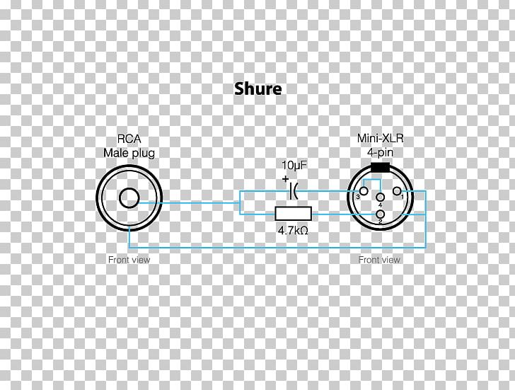 Microphone Shure SM58 XLR Connector Wiring Diagram Pinout ... on